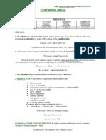 Esquemas de Gramática9 FLEXIÓN VERBAL INFINITIVO Ι. Morfología y Sintaxis