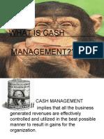 Cash Management Ppt