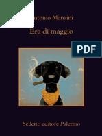 Antonio Manzini - Era Di Maggio