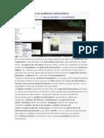DEFT Linux Para La Auditoría Informática