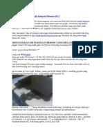 Trik Membuat Flash Disk Menjadi Memory PS 2