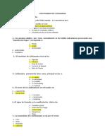 Cuestionario de Parasitologia II