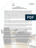 Seminario La Fotografía y el Diseño Gráfico en el Marco Jurídico del Derecho de Autor y Derecho de Marcas