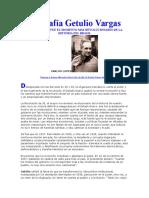 Biografía Getulio Vargas