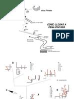 Croquis Peña Pintada - Puerto de Navacerrada