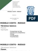 Costo - Riesgo (ejemplo)