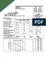 BDV64 - 65 Darliington Silicon Power Transistor