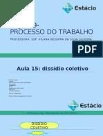 AULA 15 - Dissidio Coletivo