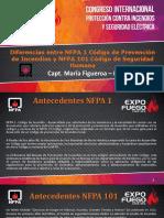 Figueroa, Maria - Diferencias Entre NFPA 1 y NFPA 101