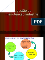 A Gestão Da Manutenção Industrial