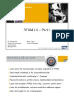 RTOM part 1