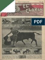 El Clarín (Valencia). 13-8-1927
