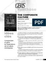 Corporate Culture Surival Guide Critique Carroll