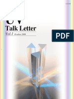 Shimadzu UV Talk Letter - Volume 1