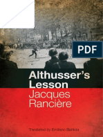 Althusser's Lesson - Jacques Ranciere.pdf