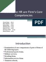 Dinstinctive HR Practices