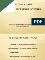 Factores Patogenos Internos Emociones