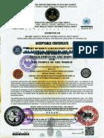 Swissindo Debt Burden Liberation Certificate 4-3-2016 English
