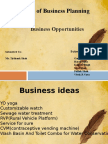 Basic of Business Planning