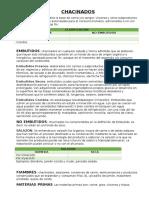 CHACINADOS Generalidades