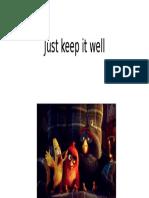 Keep It Well