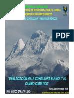 1_DeglaciaciónCordilleraBlancaCambioClimático