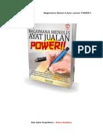 Ayat Jualan Power - Shahmi Hasifi Waizu