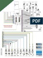 Diagrama MWM Acteon V4espanhol