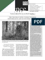Disturbance and Ecosystem Crashes