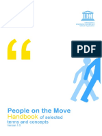 UNESCO People on the Move Handbook Terms for Migration