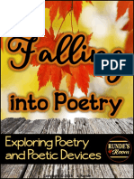 falling into poetry