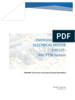 PTW PAS Electrical System Energisation