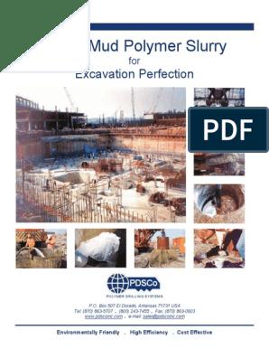 Super Mud Polymer Slurry System-1   Soil   Polymers