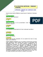 000111 31 - Martirio de Cipriano, Obispo de Cartago