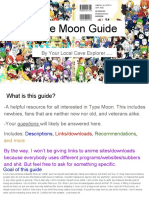 Type Moon Guide