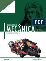 Fundamentos Da Mecanica Renato Brito Vol. 1