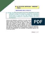 000111  33 - El Bautismo en el siglo II - Didajé