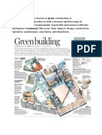 Green BUIlding Questions