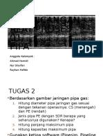 Perancangan Alat Proses - Assignment Pipa - PAP 01