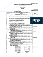Remote Sensing Question Paper