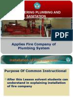Sistem Pemadam Kebakaran