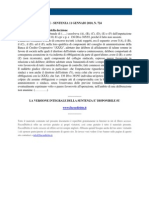 Fisco e Diritto - Corte Di Cassazione n 724 2010