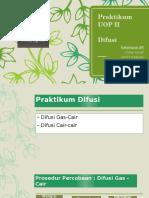 Praktikum UOP 2 - Difusi - PPT