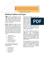 Building Traditions and Types