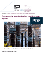 Four Essential Ingredients of an Electrical Power System _ EEP