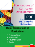 LESSON 4 Foundations of Curriculum Development
