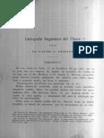 Cartografia Linguistica Del Chaco
