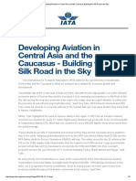 IATA -  Building the Silk Road in the Sky