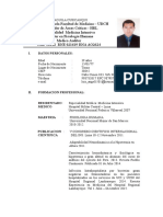 CV Dr. Luis Coaguila
