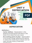 MG 6863 Engg. Economics Unit V Depreciation